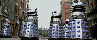 Daleks - Invasion Earth 2150AD Silver Daleks
