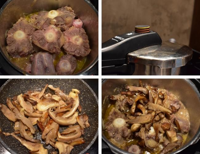 Receta de rabo de toro con verduras