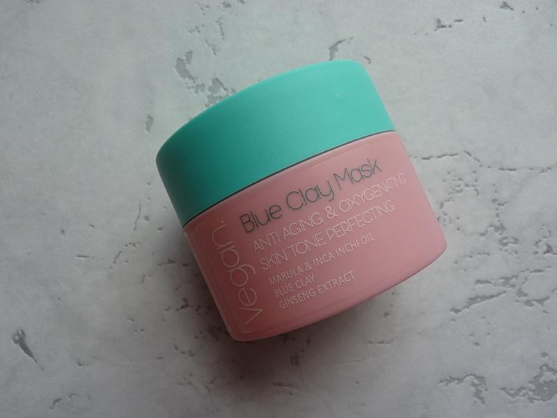 Nacomi, Blue Clay Mask Anti-aging & Oxygenating Skin Tone Perfecting