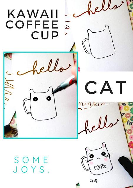 Anleitung Kawaii Cup Cat