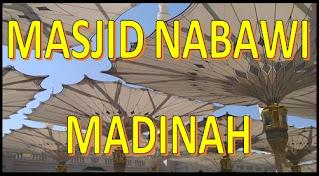 Masjid Nabawi Madinah Tempat Makam Rasulullah
