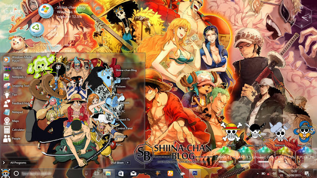 One Piece Theme Win 10 Ver  1809 by Enji Riz Lazuardi