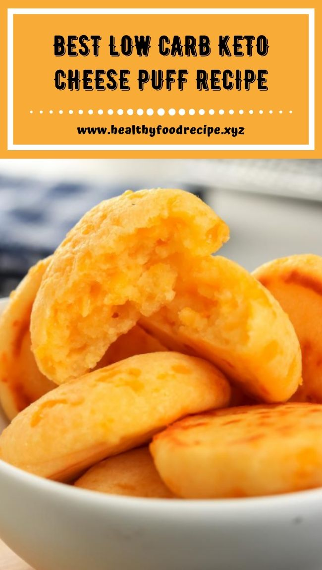 BEST LOW CARB KETO CHEESE PUFF RECIPE
