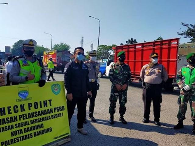 Tren Kasus Covid-19 Meningkat, PSBB di Kota Bandung Bakal Lebih Diperketat