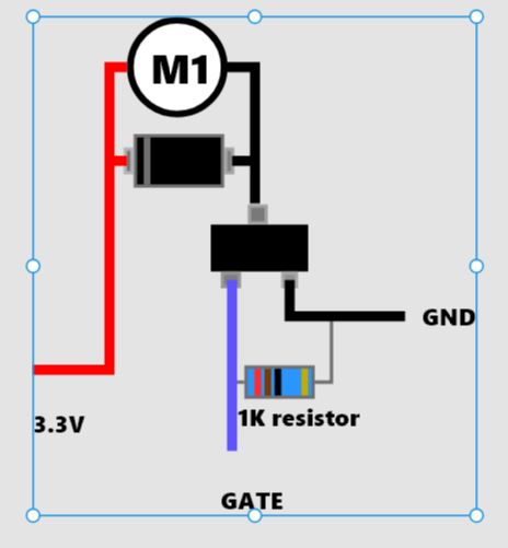one mosfet circuit