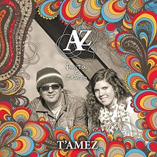 """Cover AZ Anita & Zenzo """"T'amez"""""""