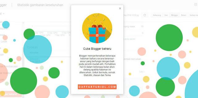 Blogger Upgrade Perkenalkan Halaman Baru