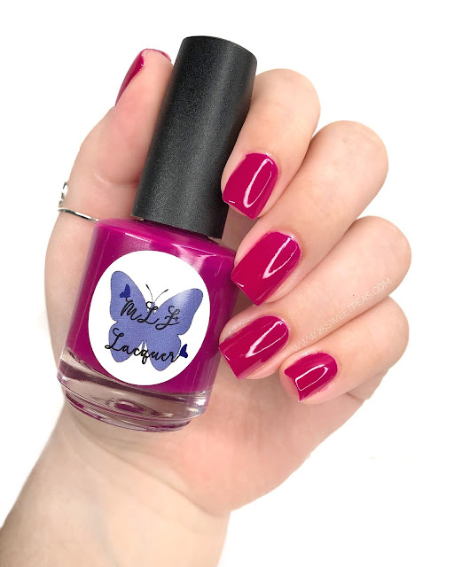 MLF Lacquer Cosmic Background 25 Sweetpeas