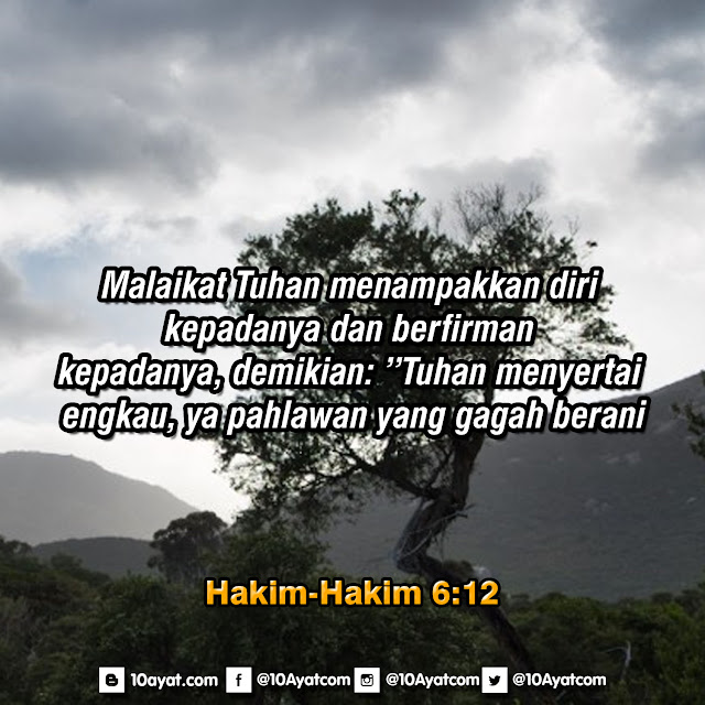 Hakim-Hakim 6:12