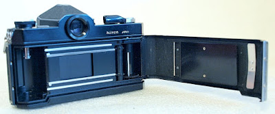 Nikomat FTN (Black) Body #901, Nikon Nikkor Pre-AI 35mm 1:2.8 #610