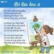 Thơ cho bé : Bé làm hoạ sỹ