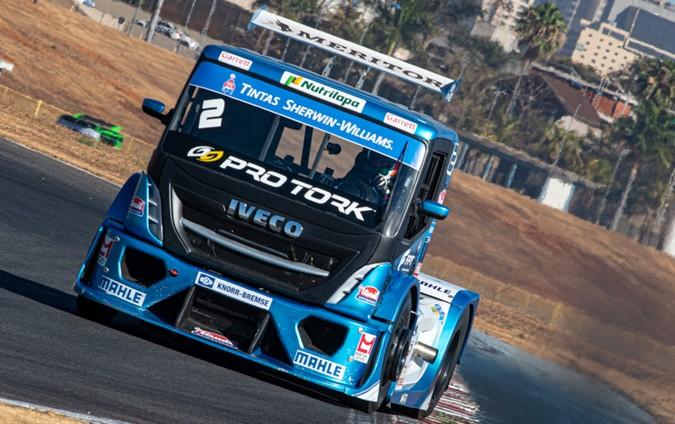 Mais um piloto a bordo de um IVECO na Copa Truck 2021