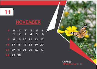 Template Kalender Duduk 2021 CDR