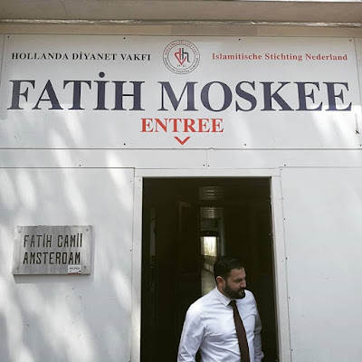 Fatih Moskee masjid Turki di Amsterdam