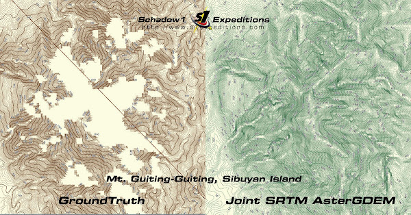 Elevation Contour Map of the Philippines - Schadow1 Expeditions