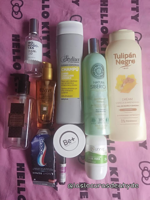 pruductos cosmeticos terminados, colonia, gel, champus, cremas,,,