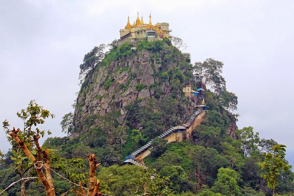 Monte Popa - Bagan