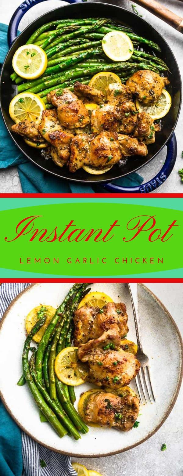 Instant Pot Lemon Garlic Chicken #INSTANPOT #LEMON #CHICKEN