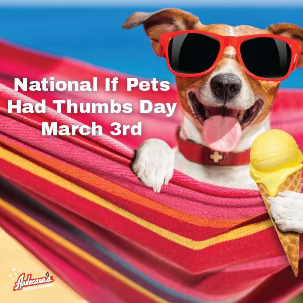 National If Pets Had Thumbs Day Wishes Images