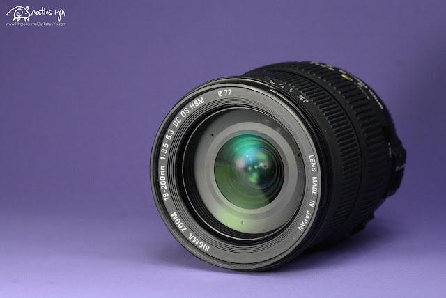 Sigma DC 18-200mm f/3.5-6.3 OS HSM