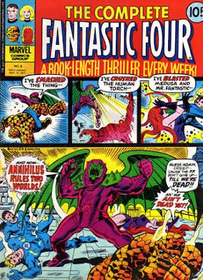 Complete Fantastic Four #8, Annihilus