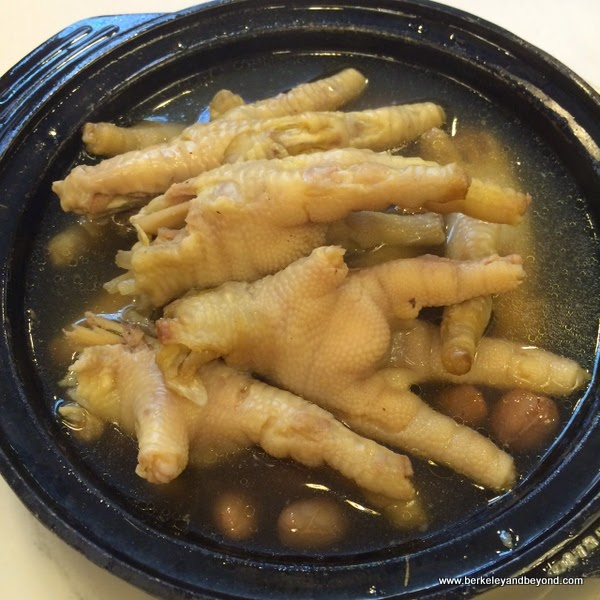 chicken feet at Hong Kong Lounge in San Francisco