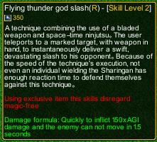 naruto castle defense 6.0 Tobirama Flying thunder god slash detail