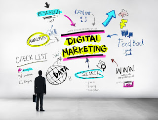 Ilustrasi Digital Marketing
