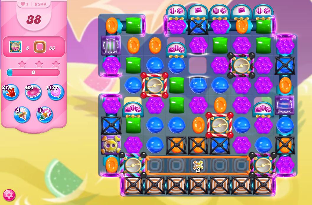 Candy Crush Saga level 9344