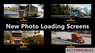 new photo loading screens for ets 2 and ats