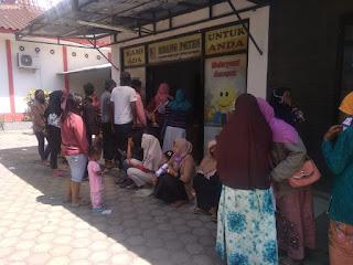 Ratusan Peserta Perekaman e-KTP Serbu Kecamatan Puger