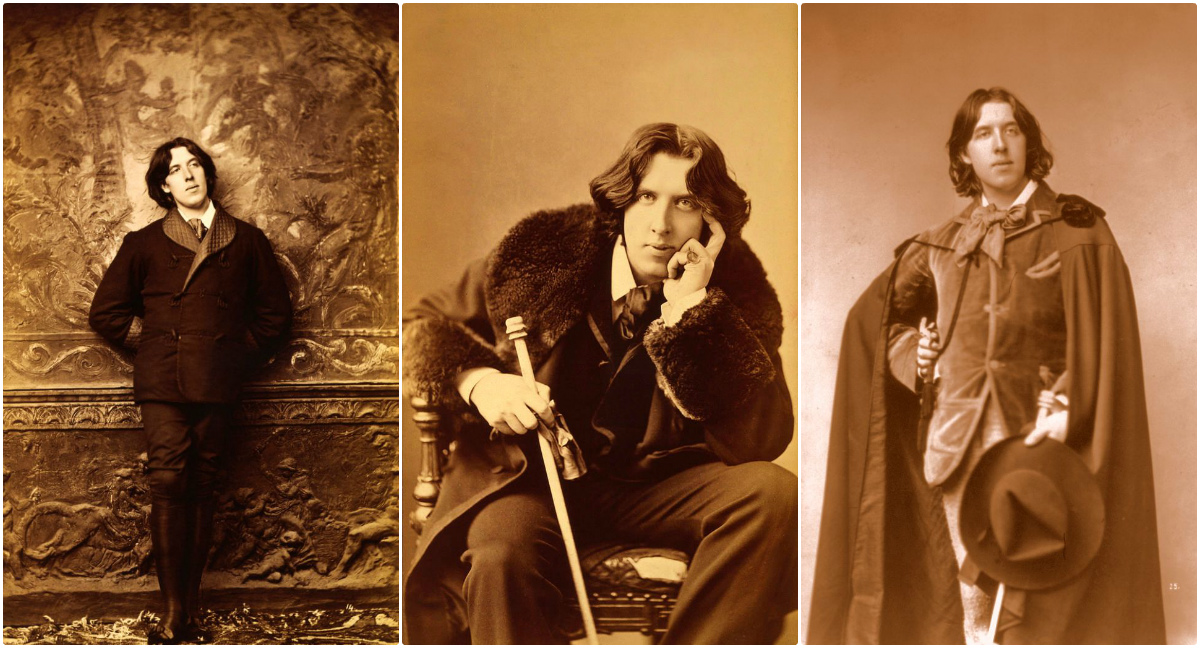 A Portrait Photos Collection of Oscar Wilde in New York in 1882 Taken by Napoleon  Sarony ~ Vintage Everyday
