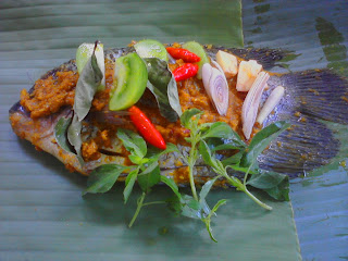 pepes ikan gurame
