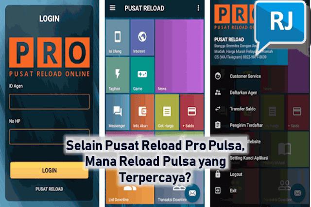 Selain Pusat Reload Pro Pulsa Mobi Pay, Mana Reload Pulsa yang Terpercaya?