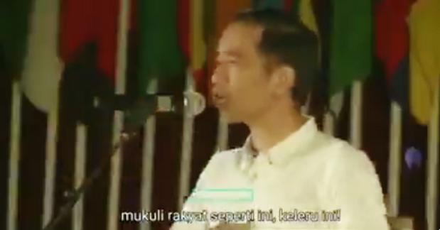 Viral Video Lama Jokowi Sebut Negara Tak Boleh Pukuli Rakyat, Netizen Gemas