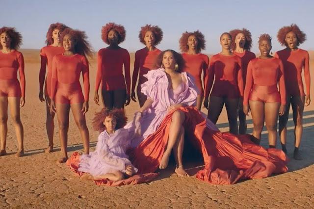 Beyoncé lançou clipe da trilha de O Rei Leão