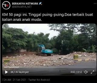 Saksi Bisu KM 50 yang Dimusnahkan