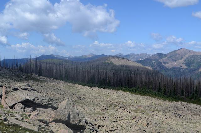 mesas near Treasure Mountain