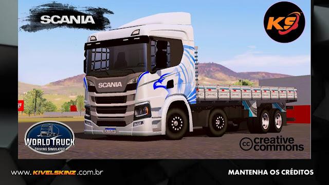 SCANIA P320 - HERÓIS DA ESTRADA EDITION