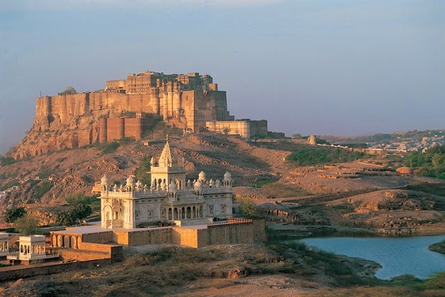 Mehrangarh Fort in Jodhpur - One of the largest forts in India