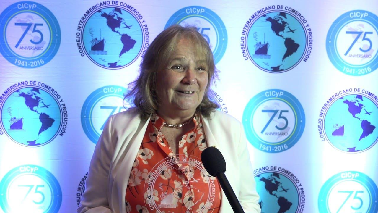 María Luisa Macchivello, autoridad de la Cámara Argentina de Comercio y Servicios (CAC)