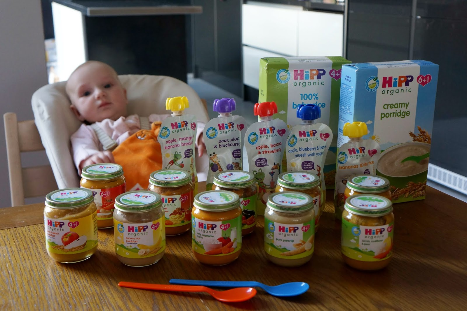 hipp weaning products
