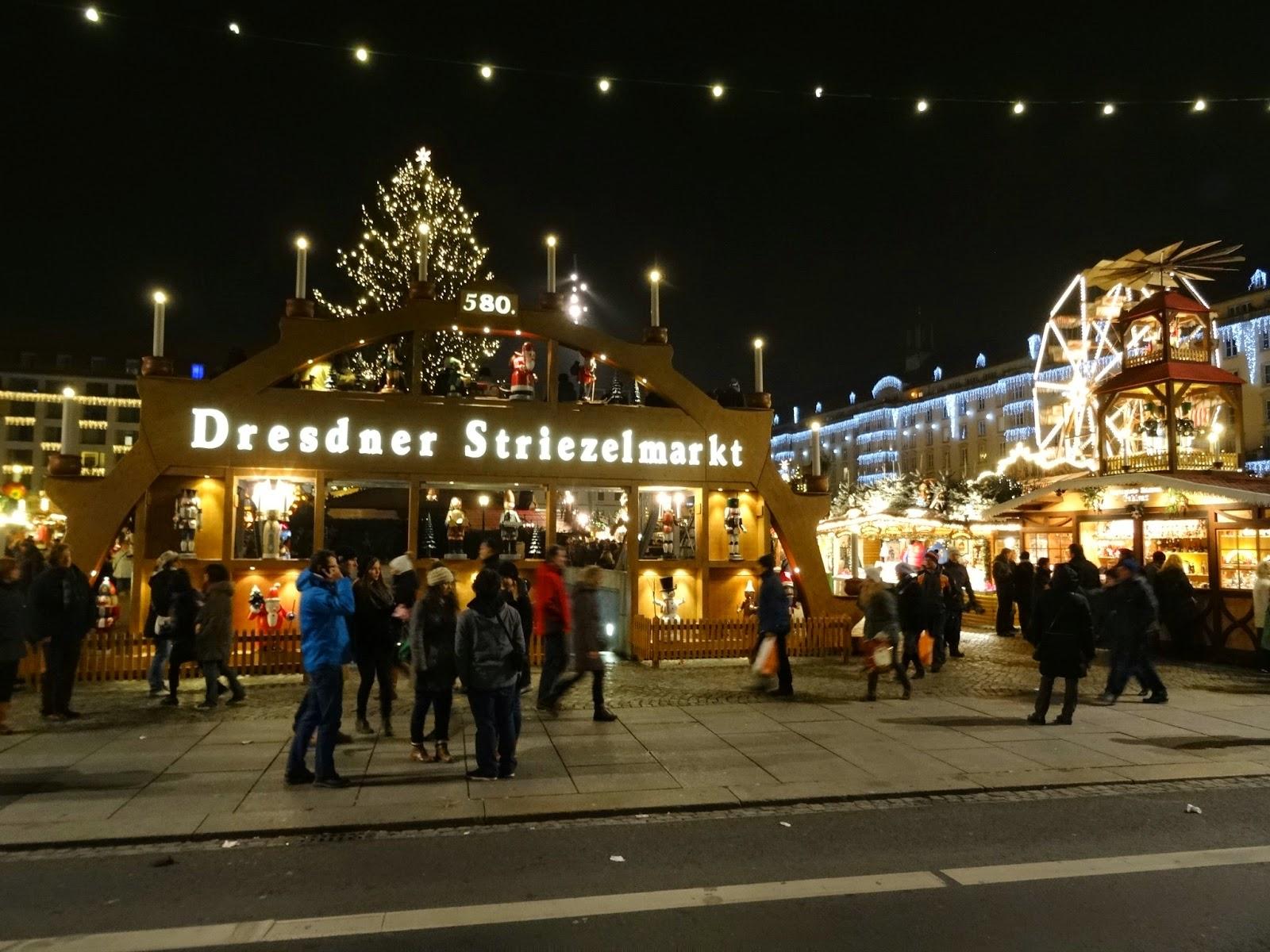 Dresden Striezelmarkt Germany