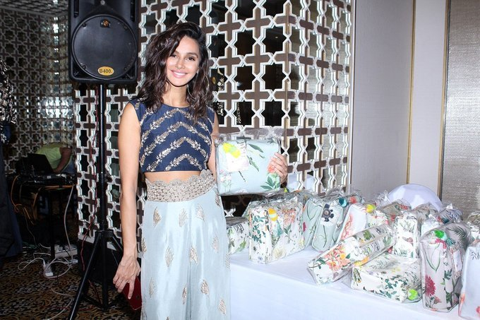 Shibani Dandekar at Preview Of Payal Singhals Collection Stills