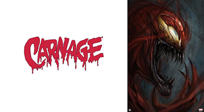 Carnage Fine Art Giclee Print by Robert Bruno x Grey Matter Art x Marvel Comics