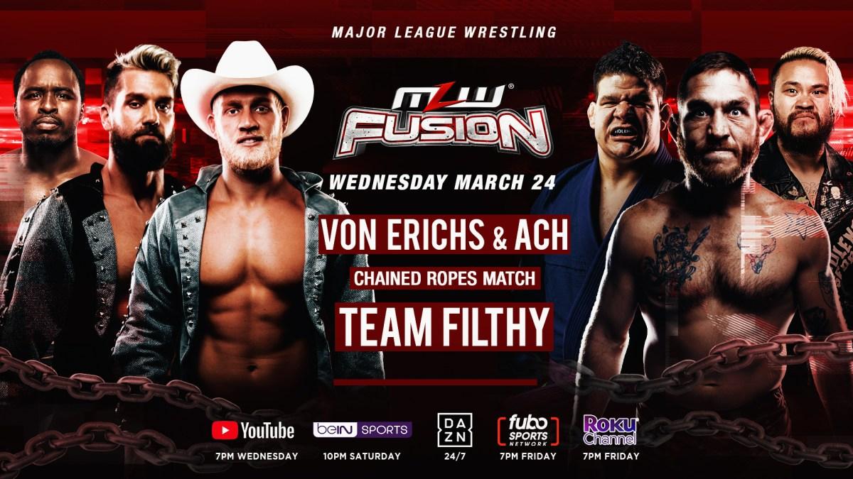 Cobertura: MLW Fusion (24/03/2021) – Nas regras do Texas!