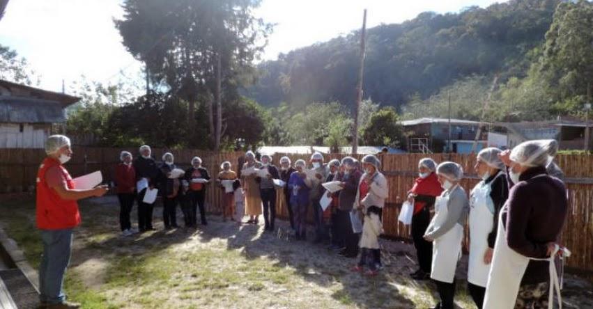MIDIS - Qali Warma fortalece capacidades de Comités de Alimentación Escolar de II.EE de Amazonas - www.qaliwarma.gob.pe