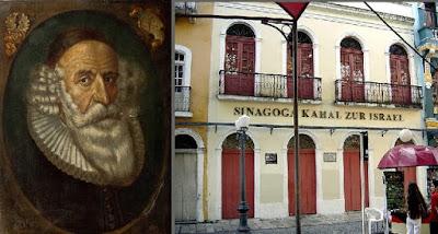 """Rab Isaac Aboab da Fonseca nació en 1605 en la localidad de Castro Daire, en Portugal. Su nombre era Simão da Fonseca. Sus padres eran """"marranos"""", judíos que habían sido convertidos por la fuerza al cristianismo. Cuando Isaac tenía siete años, la familia se trasladó a Ámsterdam."""