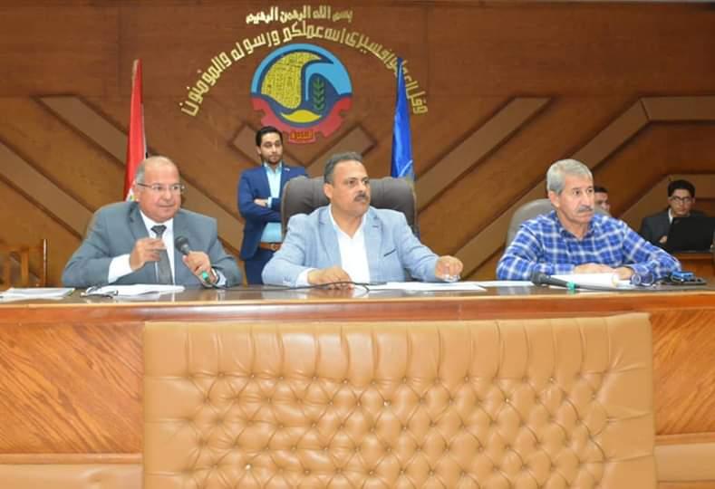 محافظة البحيرة تبحث تطوير منظومة العمل بالمراكز التكنولوجية