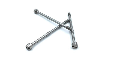 Custom Dual Shoulder Screws In 316 Stainless Steel Material